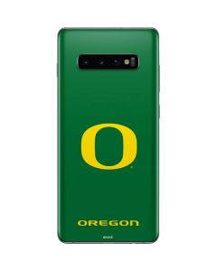 University of Oregon Mesh Galaxy S10 Plus Skin