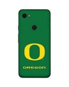 University of Oregon Mesh Google Pixel 3a Skin