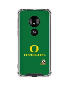 University of Oregon Moto G7 Play Clear Case