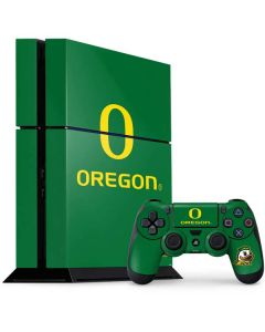 University of Oregon PS4 Console and Controller Bundle Skin