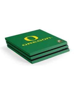 University of Oregon PS4 Pro Console Skin
