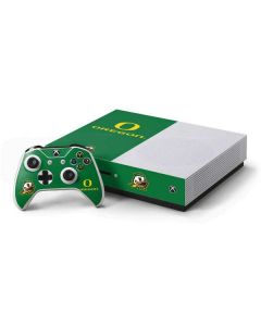 University of Oregon Xbox One S Console and Controller Bundle Skin