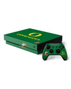 University of Oregon Xbox One X Bundle Skin