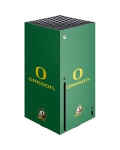 University of Oregon Xbox Series X Console Skin