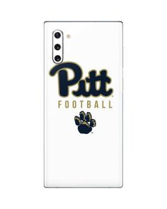 University of Pittsburgh Football Galaxy Note 10 Skin