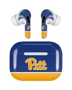 University of Pittsburgh Split Apple AirPods Pro Skin