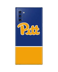 University of Pittsburgh Split Galaxy Note 10 Skin