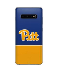University of Pittsburgh Split Galaxy S10 Plus Skin