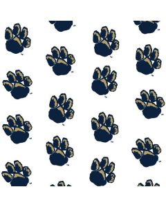 Pittsburgh Panthers Paw Prints Wii U (Console + 1 Controller) Skin