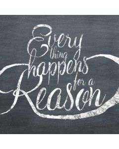 Everything Happens For A Reason Chalk Generic Laptop Skin