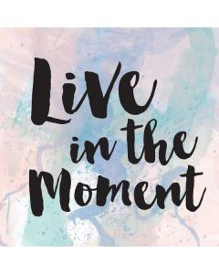 Live In The Moment Pastel Generic Laptop Skin