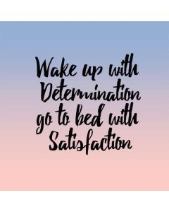 Wake Up With Determination Generic Laptop Skin