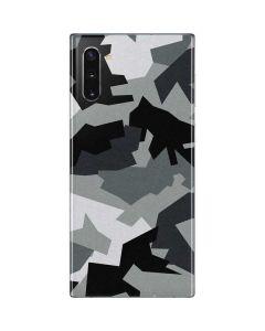 Urban Camouflage Black Galaxy Note 10 Skin