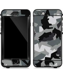 Urban Camouflage Black LifeProof Nuud iPhone Skin