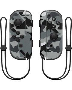 Urban Camouflage Black Nintendo Joy-Con (L/R) Controller Skin