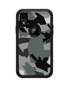 Urban Camouflage Black Otterbox Defender iPhone Skin