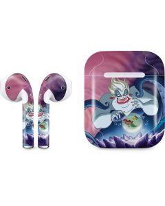 Ursula Ariel and Flounder Apple AirPods Skin