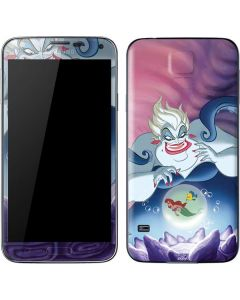 Ursula Ariel and Flounder Galaxy S5 Skin
