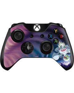 Ursula Ariel and Flounder Xbox One Controller Skin