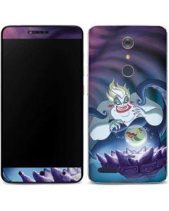Ursula Ariel and Flounder ZTE ZMAX Pro Skin