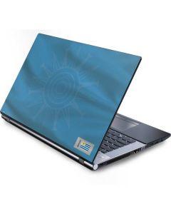 Uruguay Soccer Flag Generic Laptop Skin