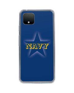 US Naval Academy Blue Star Google Pixel 4 XL Clear Case