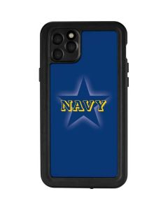 US Naval Academy Blue Star iPhone 11 Pro Max Waterproof Case