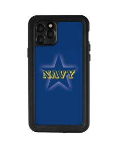 US Naval Academy Blue Star iPhone 11 Pro Waterproof Case