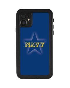 US Naval Academy Blue Star iPhone 11 Waterproof Case