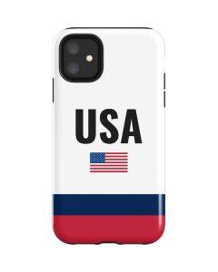 USA American Flag iPhone 11 Impact Case