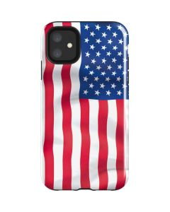USA Flag iPhone 11 Impact Case
