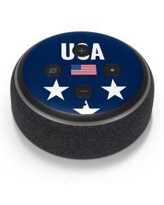 USA Flag Stars Amazon Echo Dot Skin