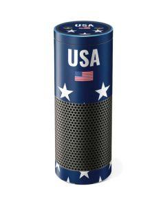 USA Flag Stars Amazon Echo Skin