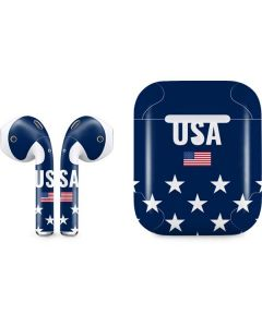 USA Flag Stars Apple AirPods 2 Skin
