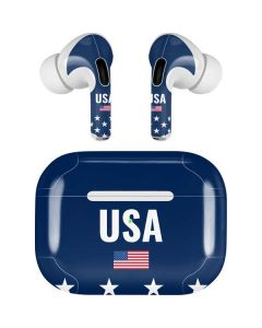 USA Flag Stars Apple AirPods Pro Skin