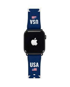 USA Flag Stars Apple Watch Band 42-44mm