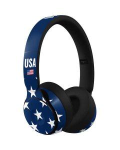 USA Flag Stars Beats Solo Pro Skin