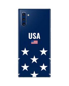 USA Flag Stars Galaxy Note 10 Skin