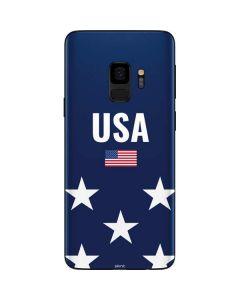 USA Flag Stars Galaxy S9 Skin