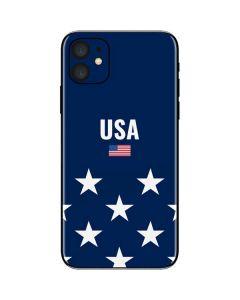 USA Flag Stars iPhone 11 Skin