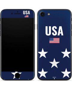 USA Flag Stars iPhone SE Skin
