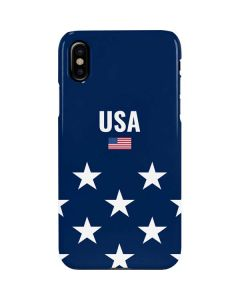 USA Flag Stars iPhone XS Max Lite Case