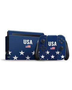 USA Flag Stars Nintendo Switch Bundle Skin