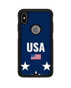 USA Flag Stars Otterbox Commuter iPhone Skin