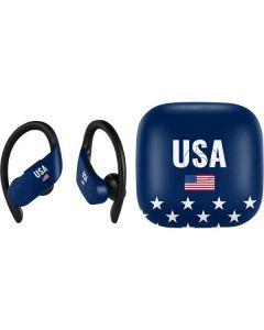 USA Flag Stars PowerBeats Pro Skin
