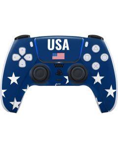 USA Flag Stars PS5 Controller Skin