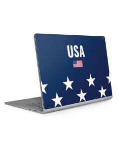 USA Flag Stars Surface Book 2 15in Skin