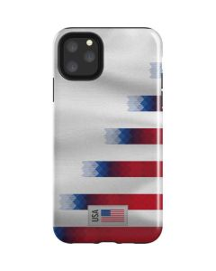 USA Soccer Flag iPhone 11 Pro Max Impact Case