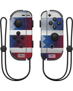 USA Soccer Flag Nintendo Joy-Con (L/R) Controller Skin