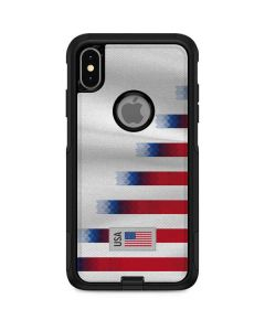 USA Soccer Flag Otterbox Commuter iPhone Skin